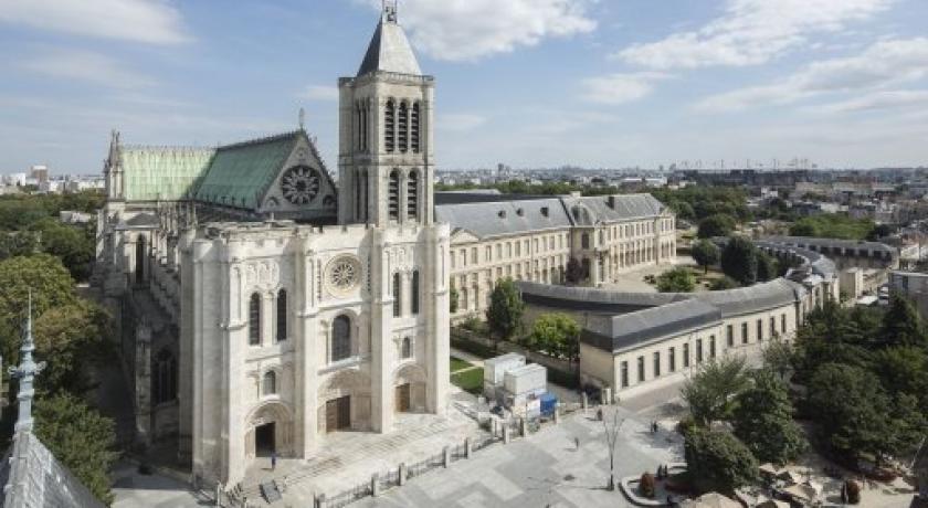 Resultado de imagen de basilica saint denis proyectos de restauracion de Debret