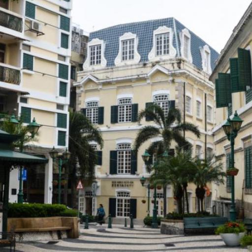 La piazza di St. Augustin