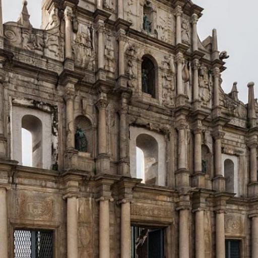 Rovine della chiesa