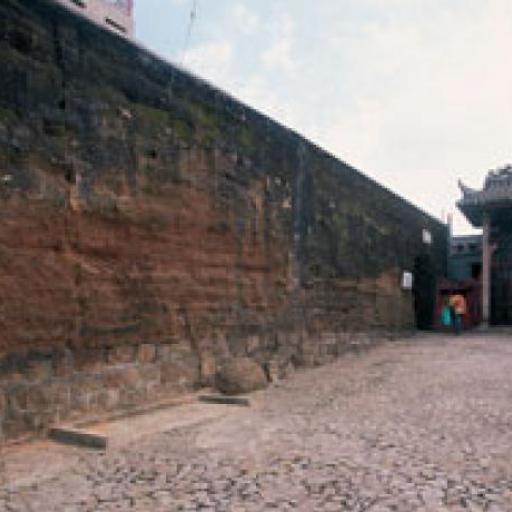 vecchie mura della città