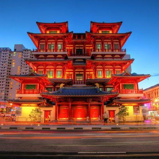 Buddha Zahn Relic Tempel
