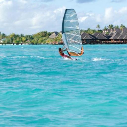 Planche à voile, Maldives