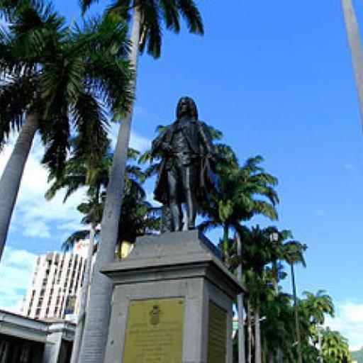 Statue von Mahe