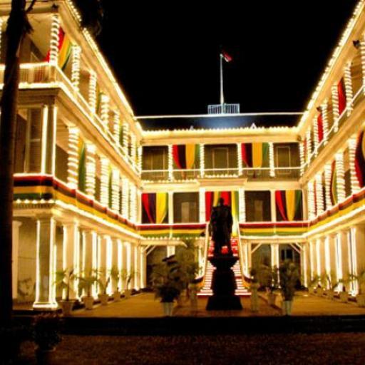 Das Haus des Gouverneurs