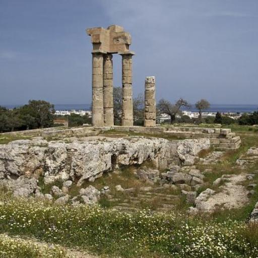 Akropolis von Rhodos